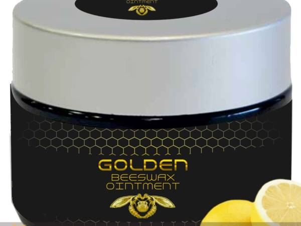 Beeswax ointment lemon, by Golden Greek land.