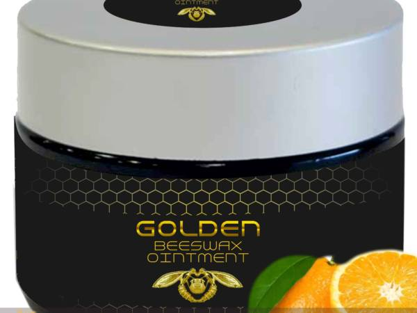 Beeswax ointment orange, by Golden Greek land.
