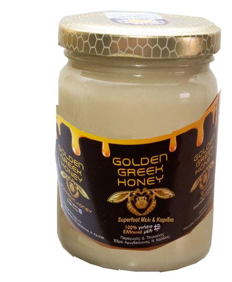 superfoods με κρέμα μελί καρυδιά